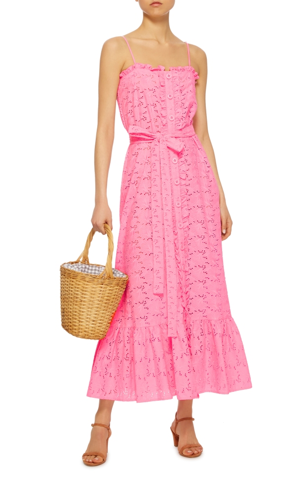 large_lisa-marie-fernandez-pink-ruffled-bodice-button-down-cotton-lace-maxi-dress.jpg