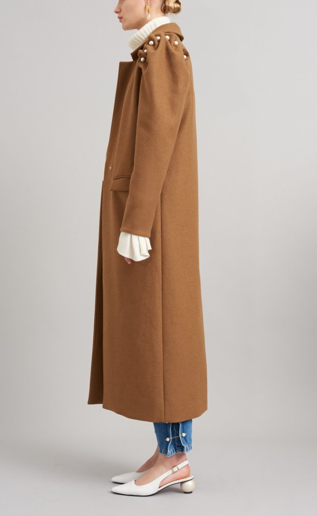 Lester-coat-recycled-wool-tan-side-Sustainable-Eveningwear-Mother-of-Pearl_5024x5024.jpg